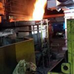 Sistema de despoeiramento aciaria